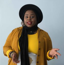 Photo of Creative Exchange Lab Artist Muneera Pilgrim